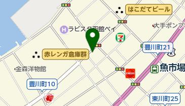 リパーク函館豊川町の地図画像