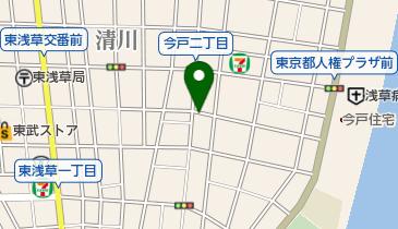 リパーク今戸2丁目の地図画像