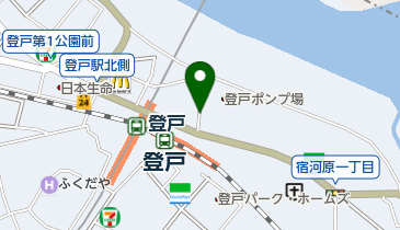 リパーク登戸駅前第4の地図画像