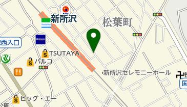 リパーク新所沢松葉町第2の地図画像