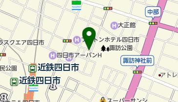リパーク四日市諏訪栄町の地図画像
