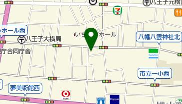 リパーク八王子本町の地図画像