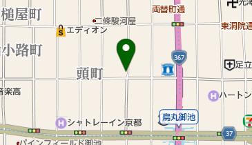 リパーク室町通押小路北の地図画像