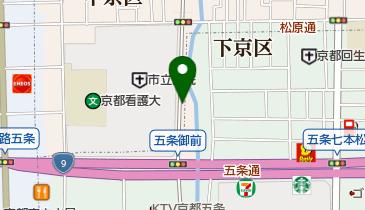 リパーク京都市立病院東の地図画像