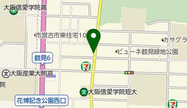 リパーク鶴見区緑1丁目の地図画像