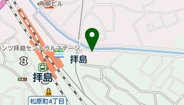 リパークワイド拝島駅前の地図画像