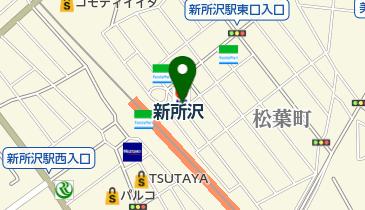 リパーク新所沢松葉町第4の地図画像