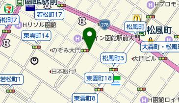リパーク函館大門の地図画像