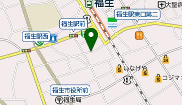 リパーク福生本町第2の地図画像
