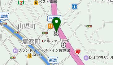 リパーク佐世保三浦町の地図画像