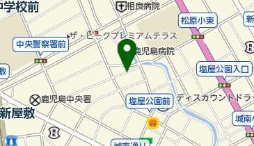 リパーク鹿児島新屋敷町の地図画像