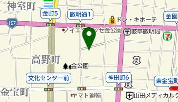 リパーク岐阜蕪城町の地図画像
