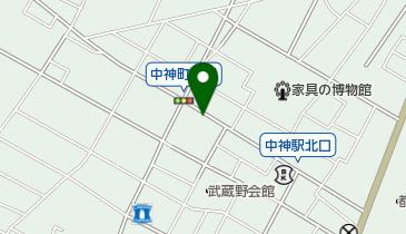 リパーク中神町の地図画像