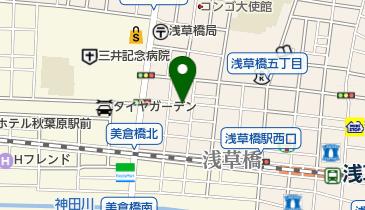 リパーク浅草橋4丁目第2の地図画像
