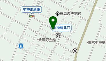 リパーク中神町第2の地図画像