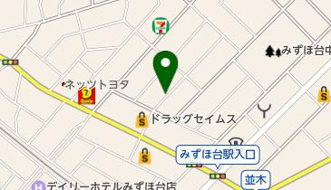 リパーク東みずほ台2丁目の地図画像