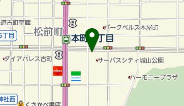 リパーク松山平和通5丁目の地図画像