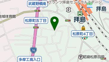 リパーク昭島松原5丁目第3の地図画像
