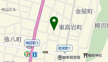 リパーク岐阜東高岩町の地図画像