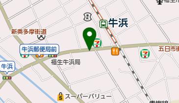 リパーク牛浜駅前第2の地図画像