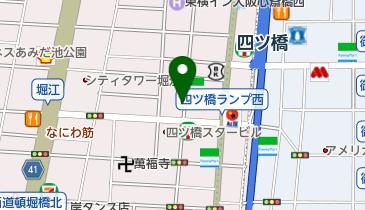 リパーク北堀江1丁目の地図画像