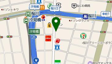 リパーク桜川駅前の地図画像