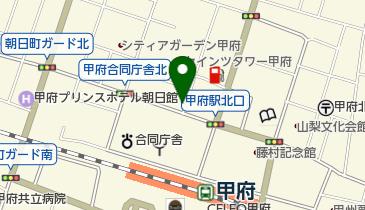 甲府北口1丁目駐車場の地図画像
