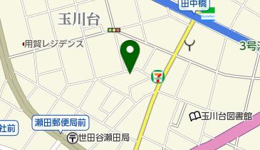 コインパーク玉川台2丁目の地図画像