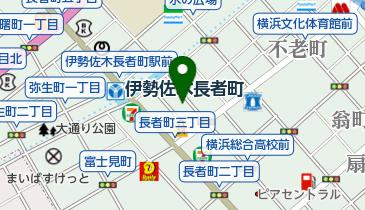 コインパーク長者町4丁目の地図画像