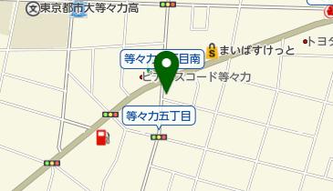 コインパーク等々力6丁目の地図画像