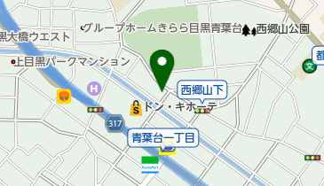 コインパーク青葉台2丁目の地図画像