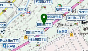 コインパーク曙町3丁目の地図画像