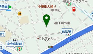 コインパーク横浜中華街の地図画像