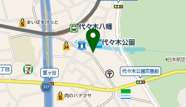 ユアー・パーキング 富ケ谷第3の地図画像