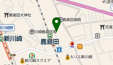 ナビパーク 鹿島田第1の地図画像