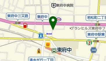 ナビパーク 府中若松町第1の地図画像
