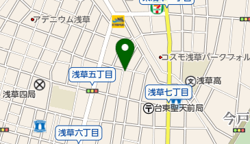 ナビパーク 浅草第15の地図画像