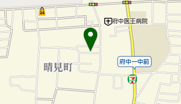 ナビパーク 府中晴見町第1の地図画像