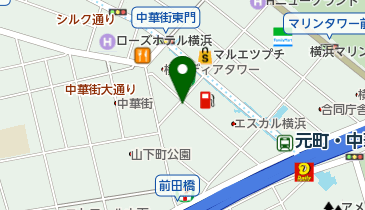 NPC24H中華街第3パーキングの地図画像