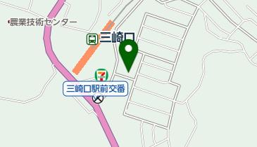 NPC24H三崎口駅前パーキングの地図画像