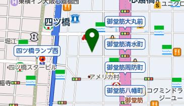 NPC24H西心斎橋第1パーキングの地図画像