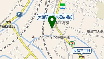 NPC24H大船駅前パーキングの地図画像