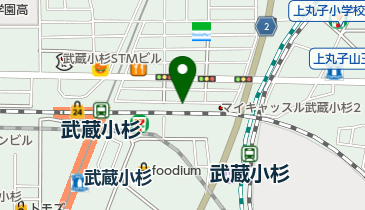 NPC24H武蔵小杉駅前パーキングの地図画像