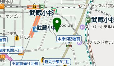 NPC24HLuz武蔵小杉パーキングの地図画像