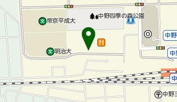 中野セントラルパークサウスパーキング(中野駅北口)の地図画像