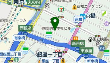 東京スクエアガーデンパーキング(駐車場予約可)の地図画像