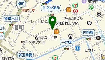NPC24H横浜北幸第2パーキングの地図画像