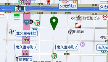 【予約制】リパーク toppi! 大阪市中央区久太郎町3丁目2-2 の地図画像