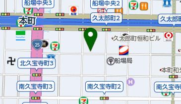 【予約制】リパーク toppi! 大阪市中央区久太郎町3丁目1ー14 の地図画像
