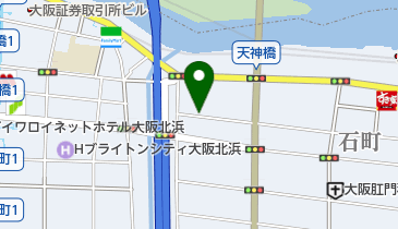 【予約制】リパーク toppi! 大阪市中央区北浜東4ー33 の地図画像